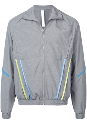 Cottweiler stripped pockets wind breaker - Grey