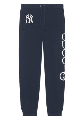 Gucci Cotton jogging pant with NY Yankees™ patch - Blue