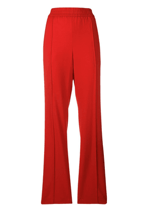 MSGM straight-leg trousers - Red