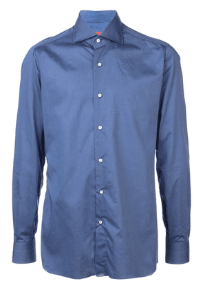 Isaia classic buttoned shirt - Blue