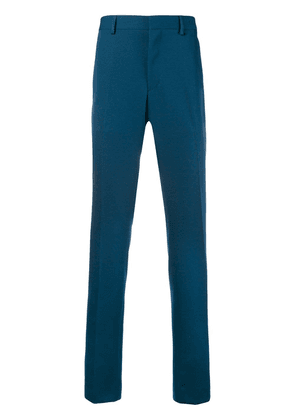 Calvin Klein 205W39nyc contrasting panelled tailored trousers - Blue