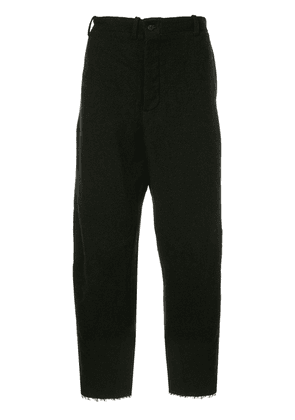 Forme D'expression LGSB cropped swag trousers - Black