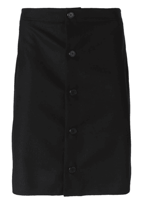 Givenchy buttoned apron - Blue