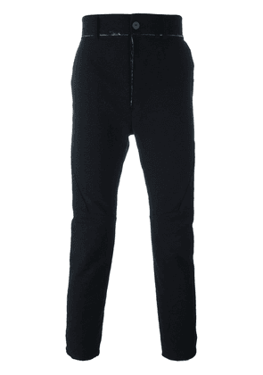 Cedric Jacquemyn deconstructed trousers - Black