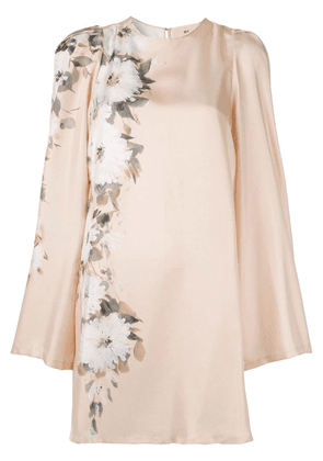 By. Bonnie Young floral print dress - Neutrals