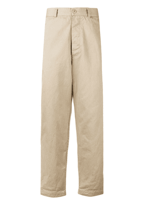 Casey Casey wide leg trousers - Neutrals