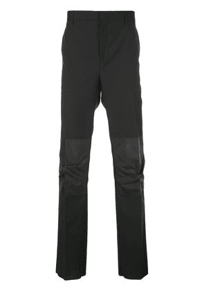 Lanvin tailored ruched panel trousers - Black