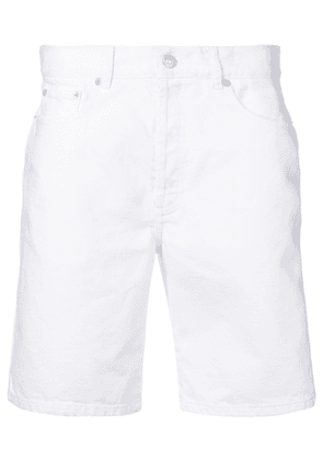 Givenchy logo side-stripe shorts - White