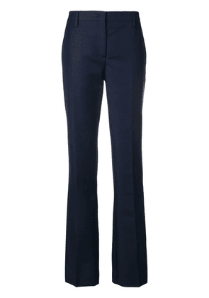 Prada Kid mohair trousers - Blue