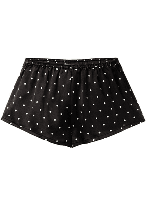 Asceno polka dot short shorts - Grey