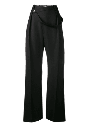 Jil Sander loose tailored trousers - Blue