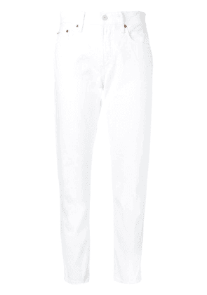 Polo Ralph Lauren cropped slim jeans - White