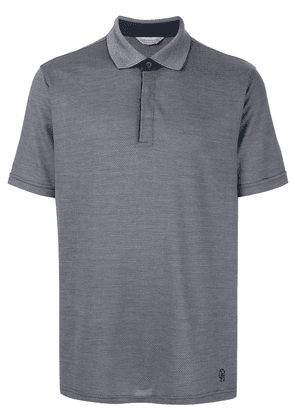 Gieves & Hawkes classic polo shirt - Grey