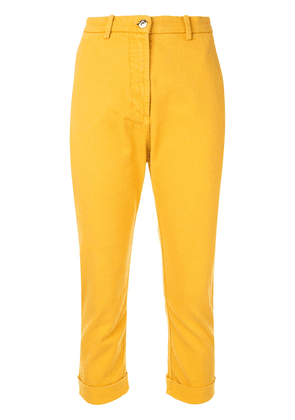 No21 cropped trousers - Yellow