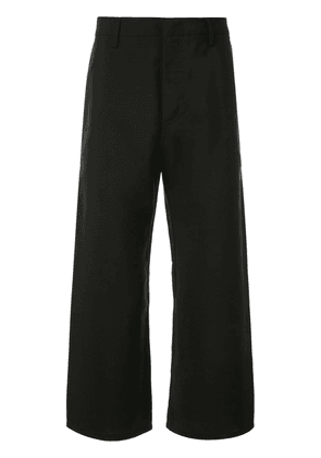 No21 cropped trousers - Black