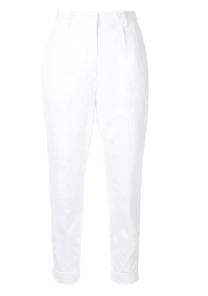 No21 cropped trousers - White