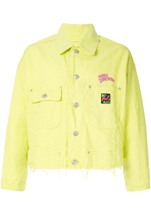 Doublet Tiger embroidery jacket - Green