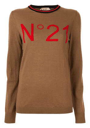 No21 logo top - Brown
