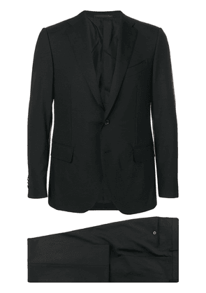 Caruso single breasted suit - Black