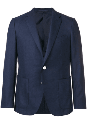 Caruso single breasted jacket - Blue