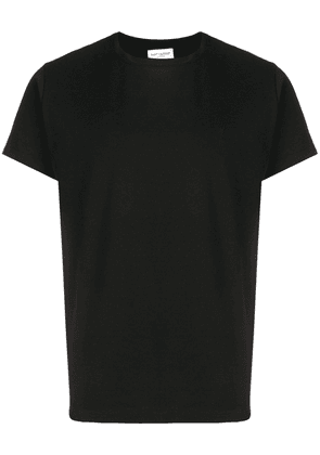 Saint Laurent black cotton T-shirt