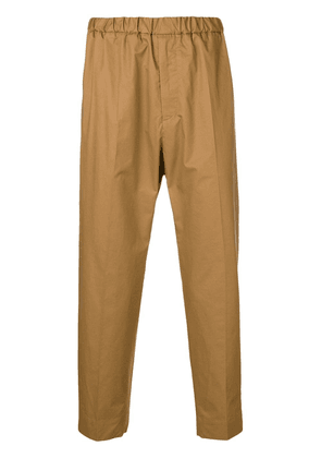Jil Sander relaxed-fit trousers - Brown