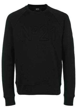 No21 logo sweatshirt - Black