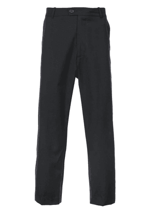 Adaptation cropped tailored trousers - Black