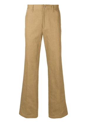 Undercover slim-fit tailored trousers - Neutrals
