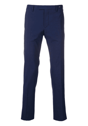 Pt01 slim-fit tailored trousers - Blue