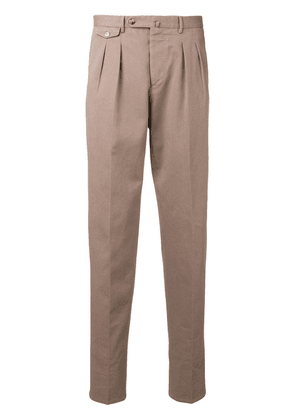 Pt01 tapered trousers - Neutrals