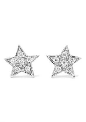 Carolina Bucci - Superstellar 18-karat White Gold Diamond Earrings - one size