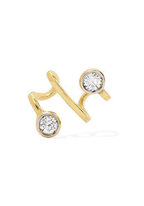 Ana Khouri - Amelie 18-karat Gold Diamond Ear Cuff - one size