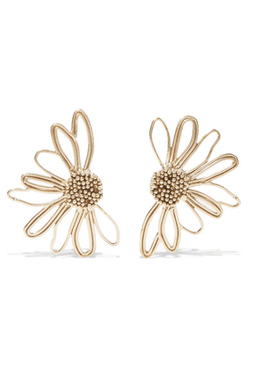 STVDIO - Bouquet Gold-tone Earrings - one size