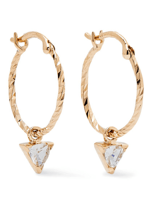 Maria Black - Vidi Gold Sapphire Earrings - one size