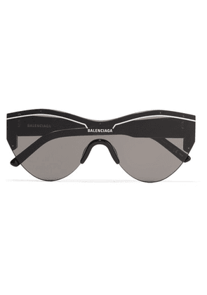 Balenciaga - Ski Cat-eye Acetate Sunglasses - Black