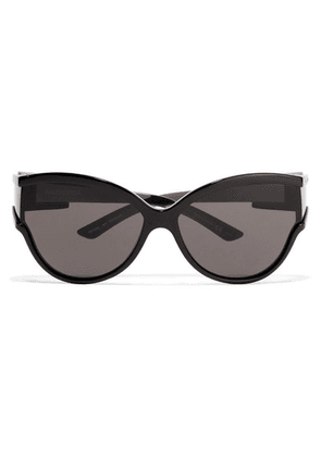 Balenciaga - Unlimited Cat-eye Acetate Sunglasses - Black