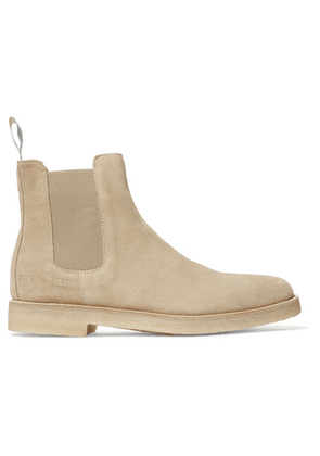 Common Projects - Suede Chelsea Boots - Sand