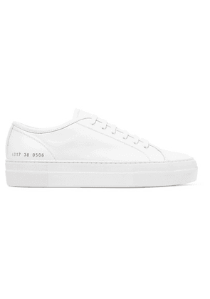 Common Projects - Tournament Leather Sneakers - White