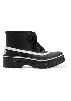 Givenchy - Glaston Logo-print Rubber Ankle Boots - Black