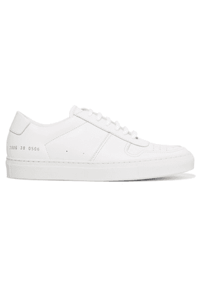 Common Projects - Bball Leather Sneakers - White