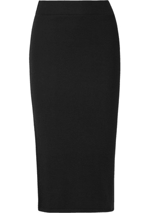 ATM Anthony Thomas Melillo - Ribbed Stretch-micro Modal Midi Skirt - Black