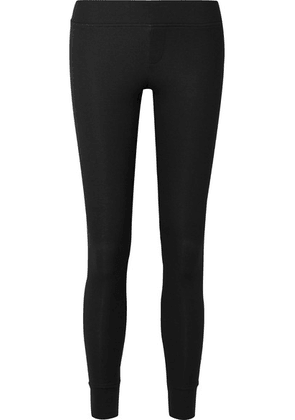 ATM Anthony Thomas Melillo - Ribbed Stretch-micro Modal Leggings - Black