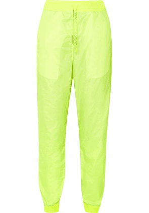 Off-White - Neon Shell Track Pants - Yellow