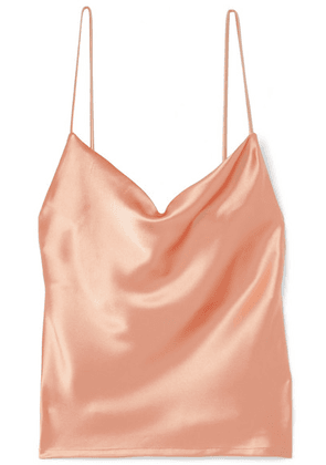 Galvan - Whiteley Satin Camisole - Peach