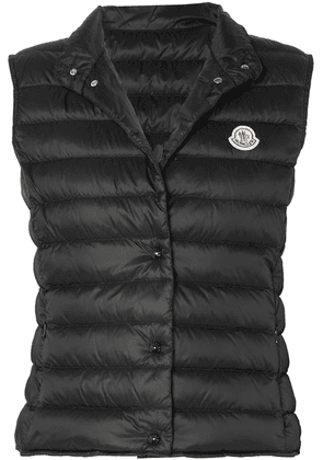 Moncler - Quilted Shell Down Vest - Black