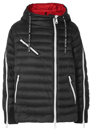 Moncler - Hooded Quilted Shell Down Jacket - Black