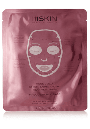 111Skin - Rose Gold Brightening Facial Treatment Mask, 5 X 30ml - one size