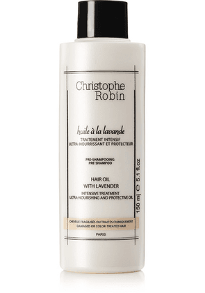 Christophe Robin - Moisturizing Hair Oil With Lavender, 150ml - one size