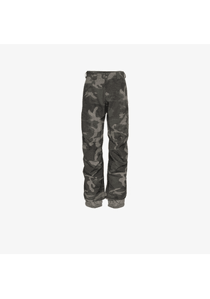 Burton Ak multicoloured camo print Gore-tex trousers